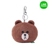 ซื้อ Line Friends Plush Key Ring 10Cm Face Brown Intl ออนไลน์