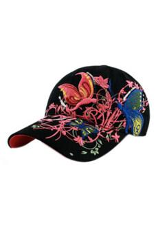 ดอกไม้ Linemart ผีเสื้อสวมหมวกเบสบอล (สีดำ)-ระหว่างประเทศ