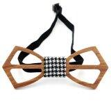ขาย ซื้อ ออนไลน์ Lingho Belt 2017 New Arrival Classic Wooden Mens Bow Ties Brand Hollow Carved Wood Bowties For Men Design Corbatas Formal Wear Party Wbt08B Intl