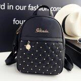 ขาย Little Bag กระเป๋าเป้สะพายหลัง กระเป๋าเป้เกาหลี กระเป๋าสะพายหลังผู้หญิง Backpack Women รุ่น Lp 116 สีดำ