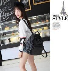 ราคา Little Bag กระเป๋าเป้สะพายหลัง กระเป๋าเป้เกาหลี กระเป๋าสะพายหลังผู้หญิง Backpack Women รุ่น Lp 135 สีดำ Little Bag กรุงเทพมหานคร