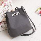 ราคา Little Bag กระเป๋าสะพายข้าง รุ่น Lb 011 Grey ใหม่ ถูก