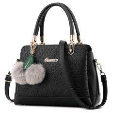 ขาย Little Bag กระเป๋าถือ กระเป๋าแฟชั่น กระเป๋าสะพายพาดลำตัว รุ่น Lb 093 สีดำ Little Bag เป็นต้นฉบับ