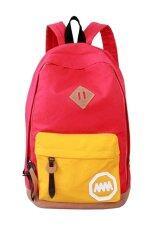 ทบทวน Little Bag กระเป๋าสะพายหลัง กระเป๋าแฟชั่นเกาหลี รุ่น Lp 023 สีแดง เหลือง Little Bag