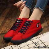 รองเท้าผ้าใบผู้หญิง Lm322 สีแดง ถูก