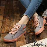 ขาย รองเท้าผ้าใบผู้หญิง Lm322 สีเทา
