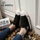 ทบทวน Sabai รองเท้าผ้าใบผู้หญิง รุ่น Lm556 สีดำ Leemo