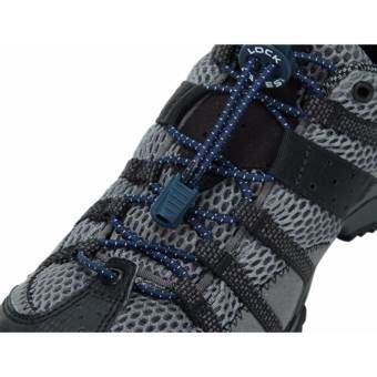 Lock laces เชือกรองเท้าไม่ต้องผูก สีกรมท่า-