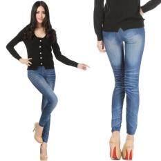 ซื้อ Londonbra กางเกงขายาวผู้หญิง เลกกิ้ง Legging สกินนี่ยีนส์ขายาว London Bra