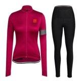 ราคา Longao Women Polyester Cycling Jersey And Pants Set Quick Dry Pockets Gel Padded Intl จีน
