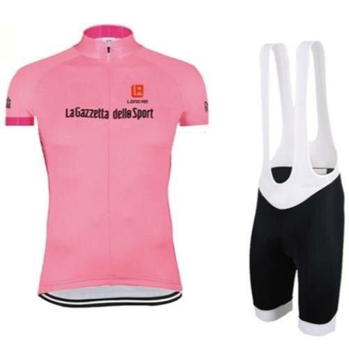 การส่งเสริม LONGAO Women Summer Cycling Jersey And Bib Shorts Set Quick Dry Pockets Gel Padded - intl hot deal - มีเพียง ฿1,114.10
