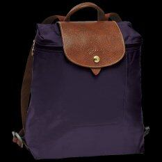 โปรโมชั่น Longchamp Le Pliage Backpack Myrtille Bilberry Violet Longchamp