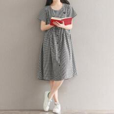 Looesn ย้อนยุคผ้าฝ้ายย่อยเดิมชุด สีดำและสีขาวตาราง Unbranded Generic ถูก ใน ฮ่องกง