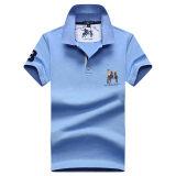 ขาย Freenoble เสื้อคอปกโปโลชาย ทรงกว้าง ผ้าฝ้ายเมอร์เซอร์ไรซ์ สีฟ้าอ่อน สีฟ้าอ่อน ฮ่องกง