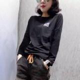 ซื้อ Ins เสื้อผ้าแฟชั่น เสื้อเกาหลีเสื้อยืดผ้าฝ้ายหญิงใหม่ สีดำ Unbranded Generic
