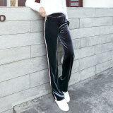 ทบทวน Looesn ย้อนยุคกำมะหยี่ทองหญิงตรงกางเกงขากว้างกางเกง สีเทา Unbranded Generic