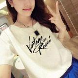 ขาย Looesn เกาหลีฤดูร้อนนักเรียนติดตั้งแขนสั้นสีขาวเสื้อยืด 7009 ออนไลน์ ใน ฮ่องกง