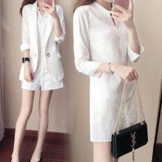ราคา มม เสื้อเกาหลีเสื้อแขนยาวหญิงหลวม สีขาว Unbranded Generic ออนไลน์