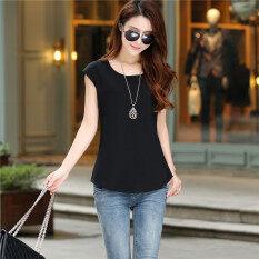 ขาย Bottoming เสื้อเวอร์ชั่นเกาหลีสีทึบใหม่ผอม สีดำ Unbranded Generic เป็นต้นฉบับ
