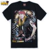 ทบทวน Guns N Roses เสื้อยืดชายเสื้อร็อคแขนสั้นคอกลมหลวม T 183 แขนสั้นเสื้อยืด Unbranded Generic
