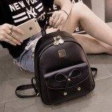 ขาย ซื้อ Lookz กระเป๋าเป้สะพายหลังผู้หญิง สไตล์เกาหลี รุ่น B11 สีดำ