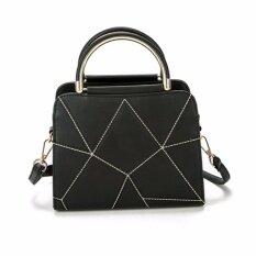 ขาย Lookz กระเป๋าถือ กระเป๋าแฟชั่น สไตล์เกาหลี รุ่น H11 สีดำ ผู้ค้าส่ง