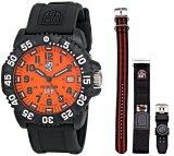 ขาย Luminox Men S Orange Rubber Wrist Band Watch 3059Set ฮ่องกง ถูก