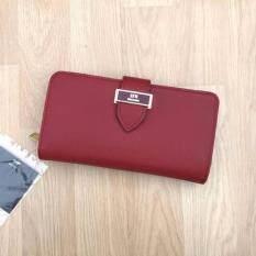 ขาย ซื้อ Lyn Jackle Long Wallet Red ใน กรุงเทพมหานคร