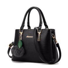 ราคา Maeva Shop กระเป๋าถือ กระเป๋าสะพายพาดลำตัว กระเป๋าแฟชั่นเกาหลี Mv 003 สีดำ ใหม่ ถูก