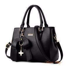 โปรโมชั่น Maeva Shop กระเป๋าถือ กระเป๋าสะพายพาดลำตัว กระเป๋าแฟชั่นเกาหลี Mv 021 สีดำ ถูก