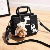 ราคา Maeva Shop กระเป๋าถือ กระเป๋าสะพายพาดลำตัว กระเป๋าแฟชั่นเกาหลี Mv 022 สีดำ ออนไลน์