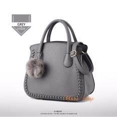ราคา Maeva Shop กระเป๋าถือ กระเป๋าสะพายพาดลำตัว กระเป๋าแฟชั่นเกาหลีmv 020 สีเทา Maeva Shop ออนไลน์