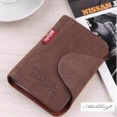ราคา Mahkazi กระเป๋า กระเป๋านามบัตร กระเป๋าCredit Card กระเป๋าใส่นามบัตร กระเป๋าใส่บัตรเครดิต
