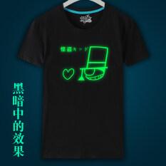 ขาย Mengxia เสื้อยืดการ์ตูนของบุรุษ สีดำ ออนไลน์