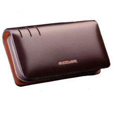 โปรโมชั่น Man Rewards กระเป๋าสตางค์หนังแท้ รุ่น Wl T3308 สีน้ำตาลเล็ก