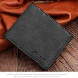ราคา Man Short Wallet Multi Wallet Card Business Soft Leather Retro Korean Thin Style Youth Student Leisure Simple Fashion Intl Haotom ออนไลน์