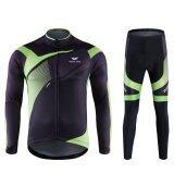ราคา Mans Bike Clothes กางเกงขายาวฤดูใบไม้ผลิกางเกงขายาวชุดเดินทาง สีดำ เขียว Intl ใน จีน