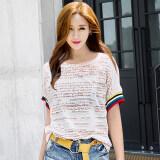 ขาย Maquillage เกาหลีหญิงฤดูร้อนหลาใหญ่เสื้อ Looesn แขนสั้นเสื้อยืด สี ราคาถูกที่สุด
