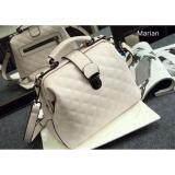 ขาย Marian กระเป๋า กระเป๋าถือสีขาว กระเป๋าสะพายสีขาวสำหรับผู้หญิง รุ่น B034 สีขาว ถูก ใน Thailand