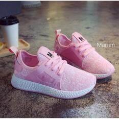 ขาย Marian รองเท้า รองเท้าผ้าใบแฟชั่น รองเท้าผ้าใบผู้หญิง รุ่น A061 ออนไลน์