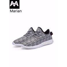 ซื้อ Marian รองเท้า รองเท้าผ้าใบผู้ชาย No A003 Gray Black ออนไลน์ กรุงเทพมหานคร
