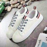 ขาย ซื้อ Marian รองเท้าผ้าใบผู้หญิง รองเท้าแฟชั่นสไตล์เกาหลี No A012 สีขาว