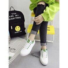 โปรโมชั่น Marian รองเท้าผ้าใบผู้หญิง รองเท้าแฟชั่นสไตล์เกาหลี No A019