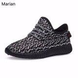 Marian รองเท้า รองเท้าผ้าใบสีดำผู้ชาย No A047 Black Grey เป็นต้นฉบับ
