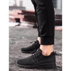 ขาย Marian รองเท้า รองเท้าผ้าใบสีดำผู้ชาย No A056 Black ใน กรุงเทพมหานคร