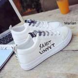 Marian รองเท้าผ้าใบผู้หญิง รองเท้าแฟชั่น No A067 สีขาว ใหม่ล่าสุด