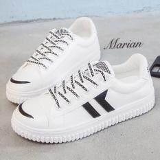 ทบทวน Marian รองเท้าผ้าใบผู้หญิง รองเท้าแฟชั่นสไตล์เกาหลี No A073 Marian