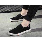 ราคา Marian รองเท้า รองเท้าผ้าใบสำหรับผู้ชาย No A080 Black ใหม่