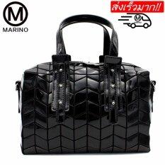 ราคา Marino กระเป๋าสะพายข้าง กระเป๋าแฟชั่นสะพายผู้หญิง No 0244 Black Marino ใหม่