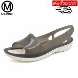 Marino รองเท้าลำลองผู้หญิง รองเท้ารัดส้นแฟชั่น No A029 Black ใน สมุทรปราการ